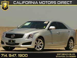 2013 Cadillac ATS Luxury Carfax Report - No Accidents  Damage Reported to CARFAX Air Conditionin