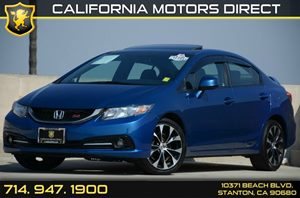 2013 Honda Civic Sedan Si Carfax 1-Owner - No Accidents  Damage Reported to CARFAX Air Condition
