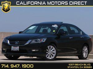 2013 Honda Accord Sedan EX Carfax 1-Owner Air Conditioning  AC Audio  Auxiliary Audio Input