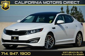 2013 Kia Optima SX Carfax 1-Owner Air Conditioning  AC Audio  Auxiliary Audio Input Audio