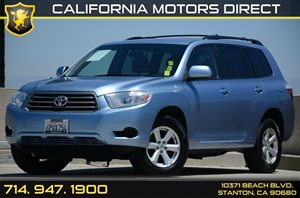 2010 Toyota Highlander Base Carfax 1-Owner - No Accidents  Damage Reported to CARFAX Air Conditi