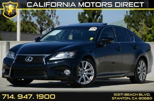2013 Lexus GS 350  Carfax Report - No Accidents  Damage Reported to CARFAX Navigation System W1