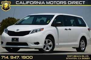 2013 Toyota Sienna L Carfax 1-Owner Air Conditioning  AC Air Conditioning  Rear AC Audio