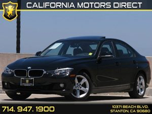 2013 BMW 3 Series 328i Carfax Report Heated Front Seats Navigation System Air Conditioning  A