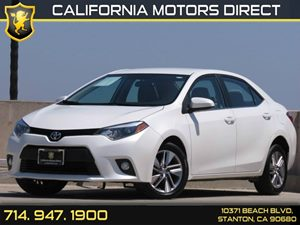 2014 Toyota Corolla LE ECO Plus Carfax 1-Owner Air Conditioning  AC Audio  Auxiliary Audio In