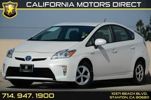 2013 Toyota Prius One Carfax Report Auxiliary Cable  IpodUsb Adapter 4 Cylinders Air Conditio