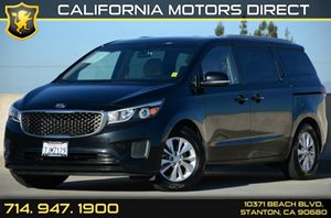 2015 Kia Sedona LX Carfax Report - No Accidents  Damage Reported to CARFAX Air Conditioning  A