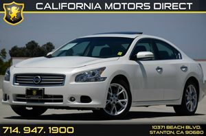 2013 Nissan Maxima 35 SV Carfax Report Air Conditioning  AC Audio  Usb Mp3 Player Convenien