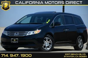 2013 Honda Odyssey EX-L Carfax 1-Owner - No Accidents  Damage Reported to CARFAX Air Conditionin