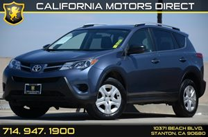 2013 Toyota RAV4 LE Carfax 1-Owner Air Conditioning  AC Audio  Auxiliary Audio Input Audio
