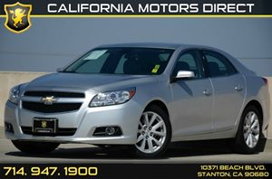 2013 Chevrolet Malibu LT Carfax Report - No AccidentsDamage Reported 4 Cylinders Air Conditioni