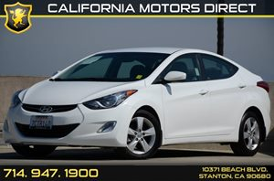 2013 Hyundai Elantra GLS Carfax Report - No AccidentsDamage Reported Air Conditioning  AC Aud