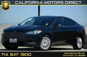 2014 Ford Fusion SE Hybrid Carfax Report - No AccidentsDamage Reported Air Conditioning  AC A