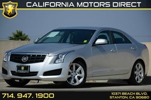 2013 Cadillac ATS  Carfax Report Air Conditioning  AC Audio  Auxiliary Audio Input Audio  P