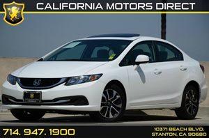 2013 Honda Civic Sedan EX Carfax Report Air Conditioning  AC Audio  Auxiliary Audio Input Au