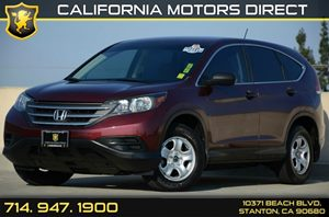 2013 Honda CR-V LX Carfax Report - No AccidentsDamage Reported Air Conditioning  AC Audio  A