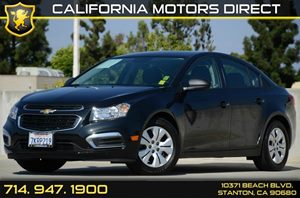 2015 Chevrolet Cruze LS Carfax Report - No AccidentsDamage Reported Air Conditioning  AC Audi