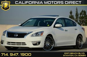 2015 Nissan Altima 25 SV Carfax Report - No AccidentsDamage Reported Air Conditioning  AC Au