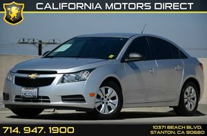 2013 Chevrolet Cruze LS Carfax Report Air Conditioning  AC Audio  Auxiliary Audio Input Audi