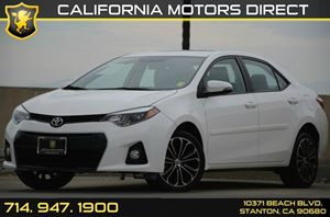 2014 Toyota Corolla S Plus Carfax Report - No AccidentsDamage Reported Air Conditioning  AC A