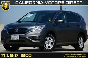 2015 Honda CR-V LX Carfax Report - No AccidentsDamage Reported Air Conditioning  AC Audio  A