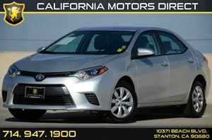 2016 Toyota Corolla LE Carfax Report - No AccidentsDamage Reported Air Conditioning  AC Audio