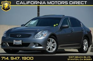 2013 Infiniti G37 Journey Carfax Report Air Conditioning  AC Audio  Auxiliary Audio Input Au