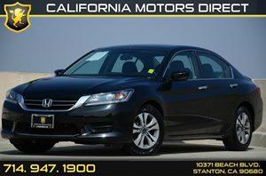 2013 Honda Accord Sedan LX Carfax 1-Owner 4 Cylinders Air Conditioning  AC Audio  Auxiliary