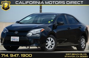 2014 Toyota Corolla L Carfax Report - No AccidentsDamage Reported Air Conditioning  AC Audio