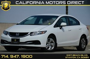2013 Honda Civic Sedan LX Carfax Report - No AccidentsDamage Reported Air Conditioning  AC Au