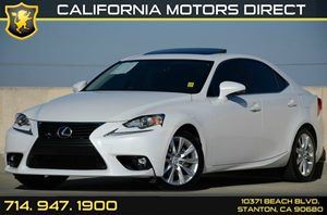 2015 Lexus IS 250  Carfax 1-Owner - No AccidentsDamage Reported Air Conditioning  AC Audio