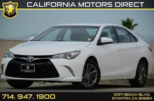 2016 Toyota Camry SE Carfax Report - No AccidentsDamage Reported Air Conditioning  AC Audio