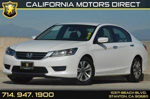 2013 Honda Accord Sedan LX Carfax 1-Owner 16 Alloy Wheels Air Conditioning  AC Audio  Auxi