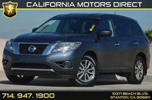 2013 Nissan Pathfinder S Carfax 1-Owner 2 12V Pwr Outlets 18 X 75 Alloy Wheels Air Condi