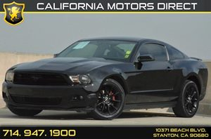2010 Ford Mustang V6 Carfax Report - No Accidents  Damage Reported to CARFAX 2 Pwr Points 6 C