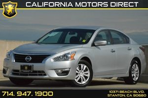 2015 Nissan Altima 25 S Carfax 1-Owner 2 12V Dc Power Outlets 4 Cylinders Air Conditioning  A