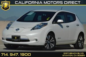 2013 Nissan LEAF SL Carfax 1-Owner - No AccidentsDamage Reported 12V Pwr Outlet Air Conditionin