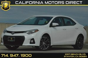 2014 Toyota Corolla S Plus Carfax 1-Owner - No AccidentsDamage Reported 1 12V Dc Power Outlet 4