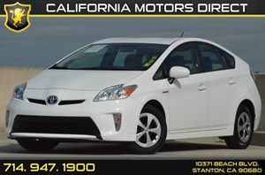 2015 Toyota Prius Two Carfax 1-Owner - No AccidentsDamage Reported 2 12V Dc Power Outlets 4 Cyl