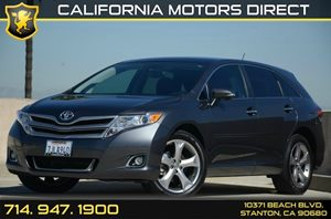 2015 Toyota Venza XLE Carfax 1-Owner 3 12V Dc Power Outlets 6 Cylinders Air Conditioning  AC
