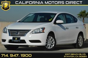 2015 Nissan Sentra SV Carfax 1-Owner 2 12V Dc Power Outlets 4 Cylinders Air Conditioning  AC