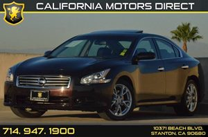 2013 Nissan Maxima 35 S Carfax 1-Owner 18 X 80 Fine Silver Aluminum Alloy Wheels 4-Way Pwr