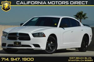 2014 Dodge Charger SE Carfax 1-Owner 3 12V Dc Power Outlets 6 Cylinders Air Conditioning  AC