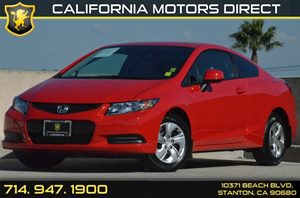 2013 Honda Civic Coupe LX Carfax 1-Owner 4 Cylinders Air Conditioning  AC Audio  Auxiliary A