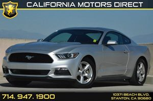 2015 Ford Mustang V6 Carfax 1-Owner 2 12V Dc Power Outlets 6 Cylinders Air Conditioning  AC