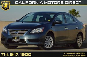 2015 Nissan Sentra SV Carfax 1-Owner - No AccidentsDamage Reported 4 Cylinders Air Conditioning