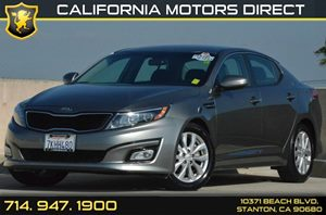 2015 Kia Optima LX Carfax 1-Owner 2 12V Dc Power Outlets 4 Cylinders Air Conditioning  AC Au