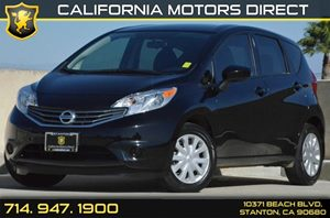 2015 Nissan Versa Note SV Carfax 1-Owner 2 Seatback Storage Pockets 4 Cylinders Air Conditionin