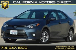 2014 Toyota Corolla LE Plus Carfax 1-Owner 1 12V Dc Power Outlet 4 Cylinders Air Conditioning