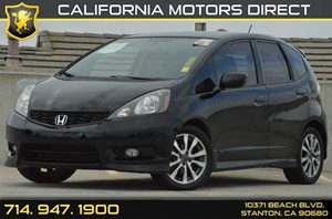2012 Honda Fit Sport Carfax Report 4 Cylinders Air Conditioning  AC Audio  AmFm Stereo Aud